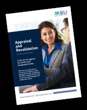 MSU Appraisal and Revalidation Flyer