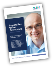 Download the MSU Responsible Officer Outsourcing flyer