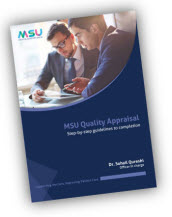 Download the Quality Appraisal Step-by-Step Guide