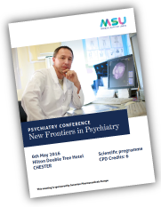 MSU Spring Conference Programme - New Frontiers in Psychiatry